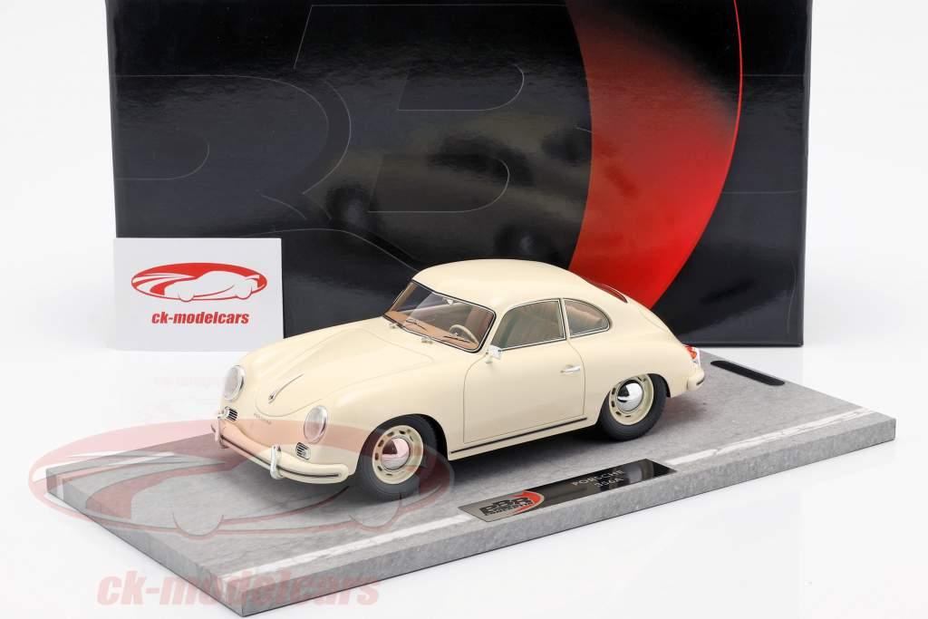 Porsche 356A Bouwjaar 1955 ivoor 1:18 BBR