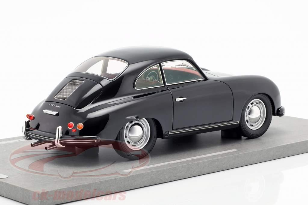Porsche 356A año de construcción 1955 negro 1:18 BBR
