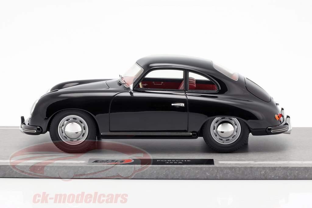 Porsche 356A Opførselsår 1955 sort 1:18 BBR