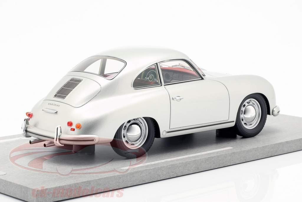 Porsche 356A Opførselsår 1955 sølv metallisk 1:18 BBR