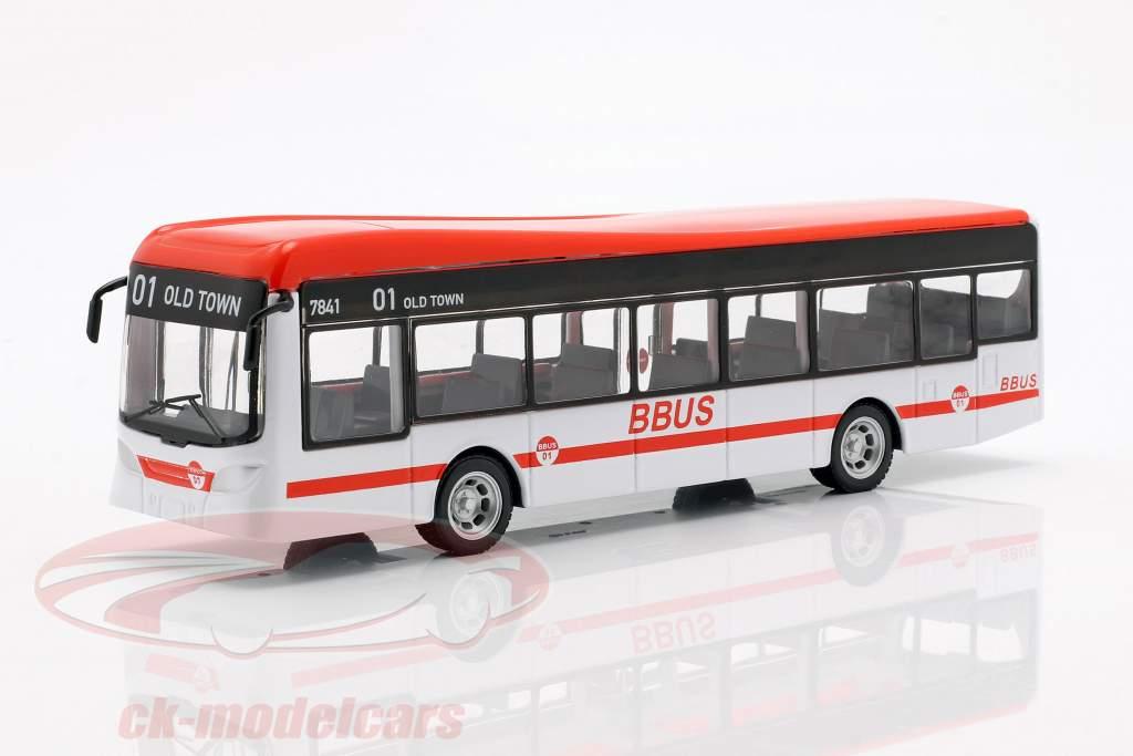 City Bus white / red / black 1:43 Bburago