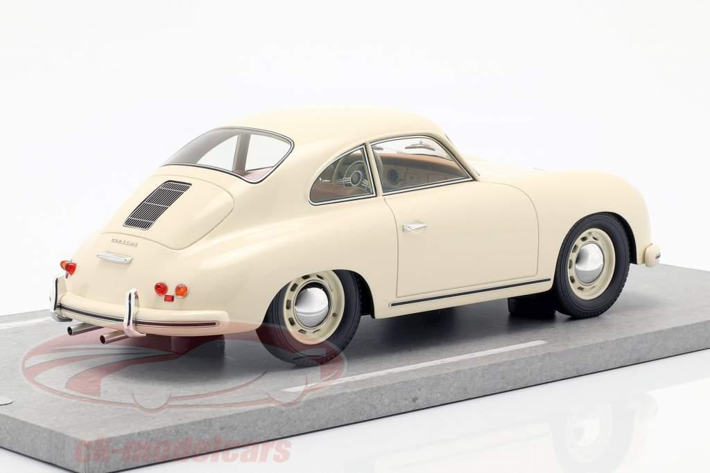 Porsche 356A ano de construção 1955 marfim 1:18 BBR