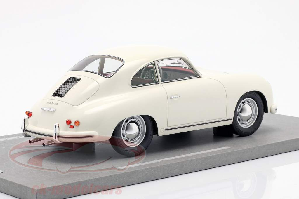 Porsche 356A Opførselsår 1955 hvid 1:18 BBR