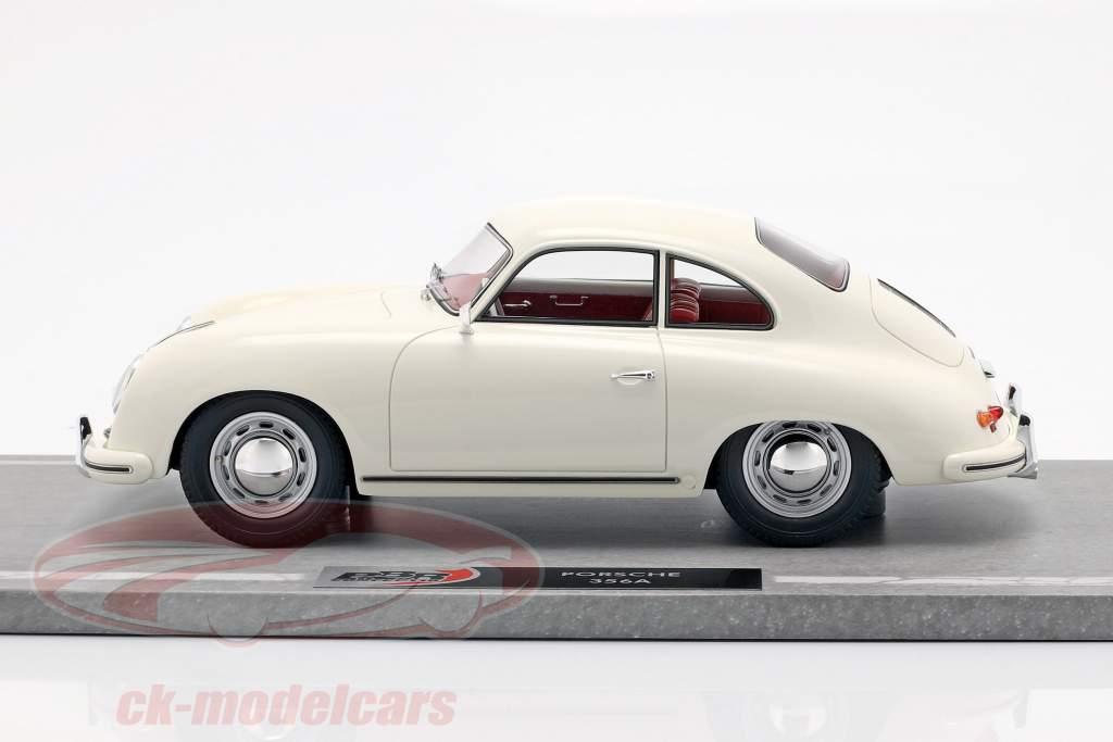 Porsche 356A year 1955 white 1:18 BBR