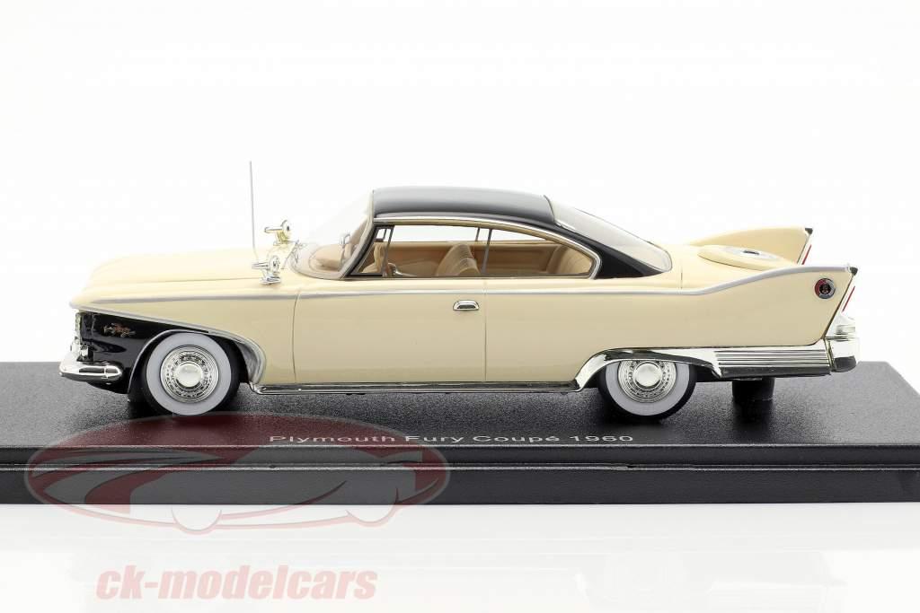 Plymouth Fury Coupe año de construcción 1960 beige claro 1:43 Neo