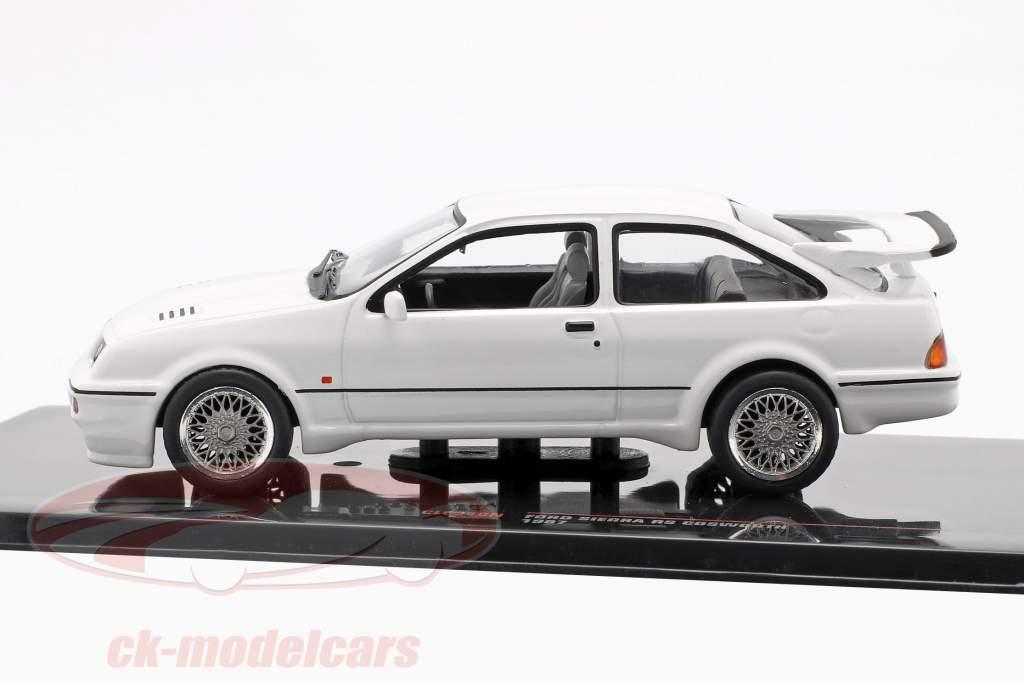 Ford Sierra RS Cosworth Opførselsår 1987 hvid 1:43 Ixo
