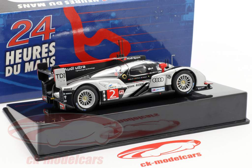 Audi R18 TDI #2 gagnant 24h LeMans 2011 Fässler, Lotterer, Treluyer 1:43 Ixo