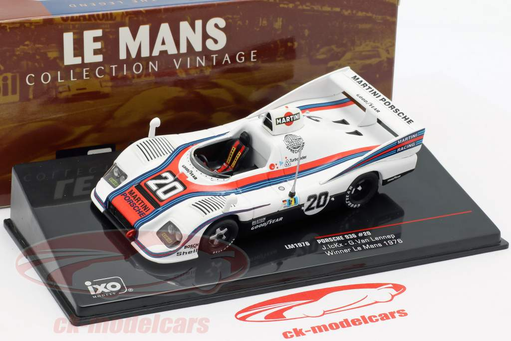 Porsche 936 #20 Vinder 24h LeMans 1976 Ickx, van Lennep 1:43 Ixo