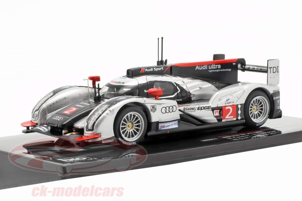 Audi R18 TDI #2 vencedor 24h LeMans 2011 Fässler, Lotterer, Treluyer 1:43 Ixo