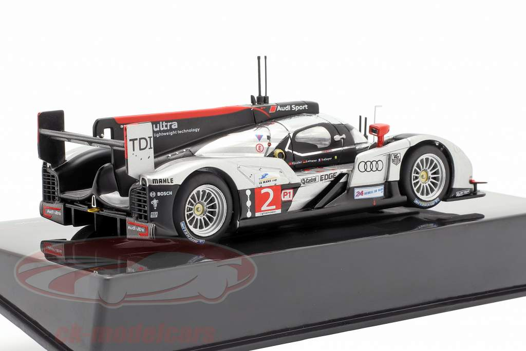 Audi R18 TDI #2 ganador 24h LeMans 2011 Fässler, Lotterer, Treluyer 1:43 Ixo