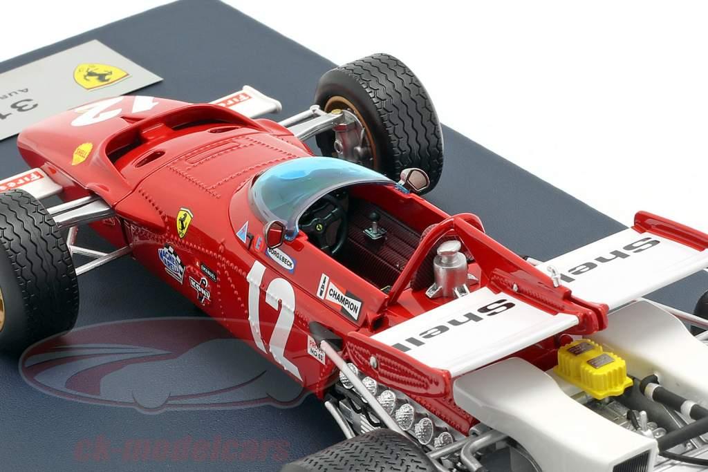 Jacky Ickx Ferrari 312B #12 Winner Austria GP F1 1970 with showcase 1:18 LookSmart