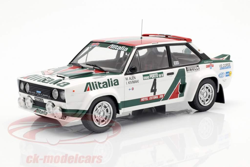 Fiat 131 Abarth #4 Vinder Rallye Portugal 1978 Alen, Kivimäki 1:18 Ixo
