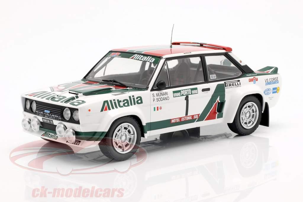 Fiat 131 Abarth #1 Rallye Portugal 1978 Munari, Sodano 1:18 Ixo