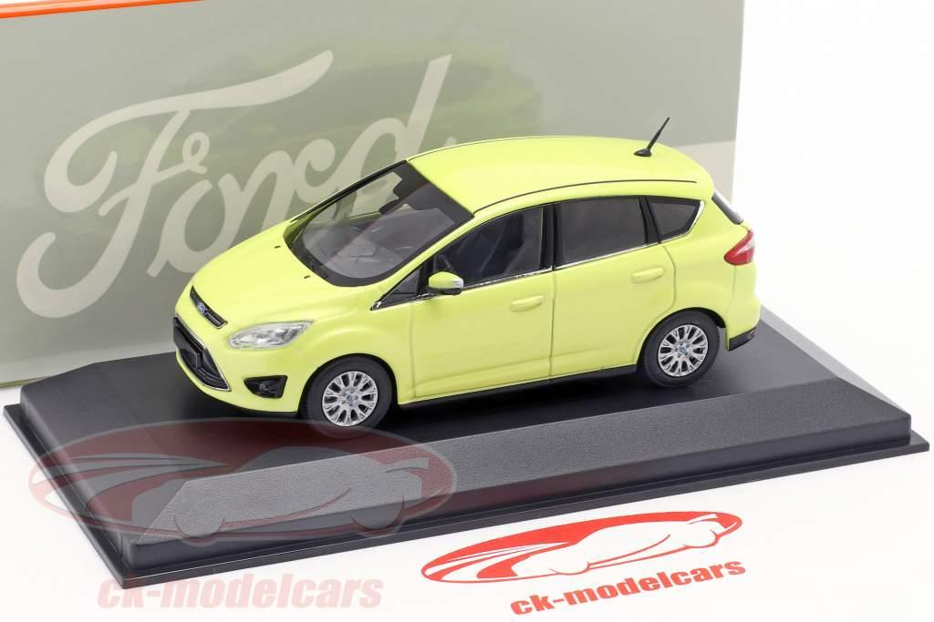 Ford C-Max giallo 1:43 Minichamps