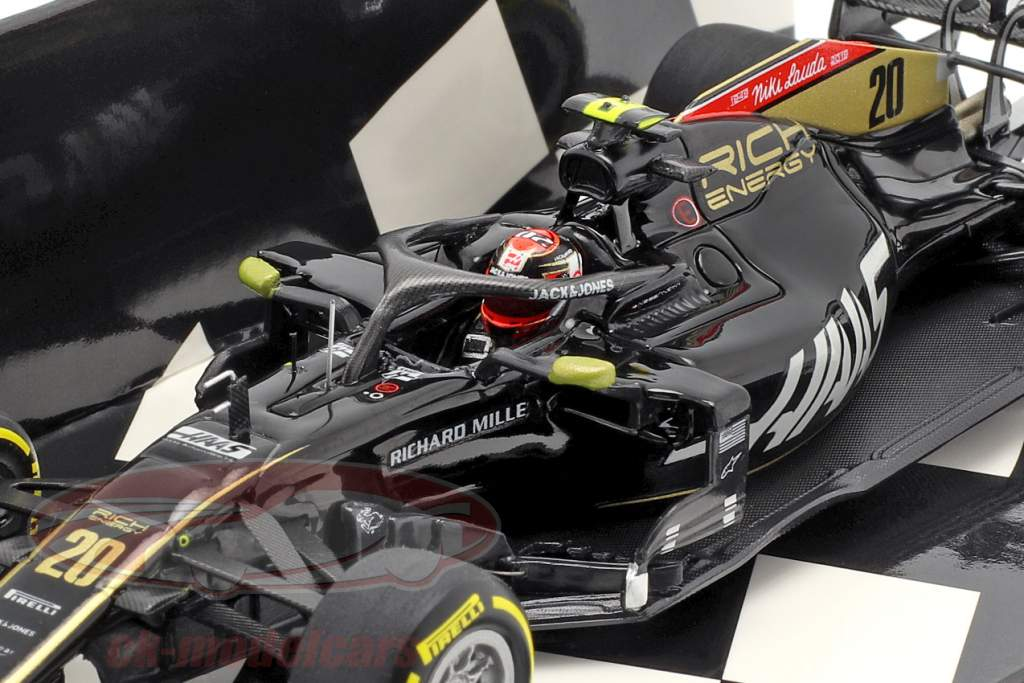 Kevin Magnussen Haas VF-19 #20 Monaco GP formula 1 2019 1:43 Minichamps