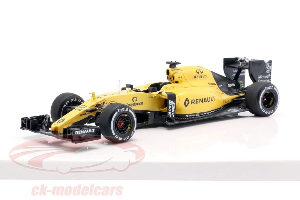 K. Magnussen & J. Palmer Renault R.S.16 Showcar fórmula 1 2016 1:43 Spark