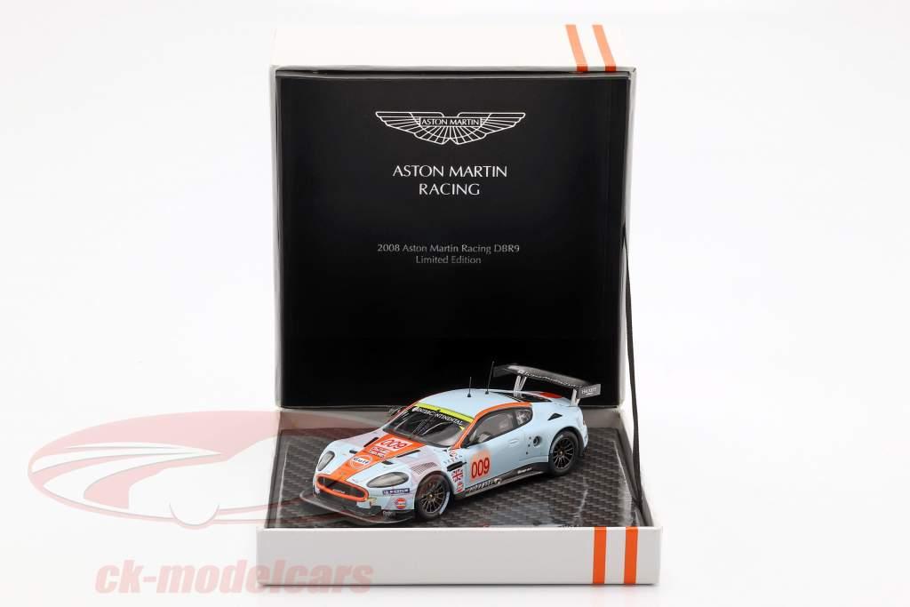 Aston Martin DBR9 #009 clase ganador 24h LeMans 2008 Aston Martin Racing 1:43 Ixo