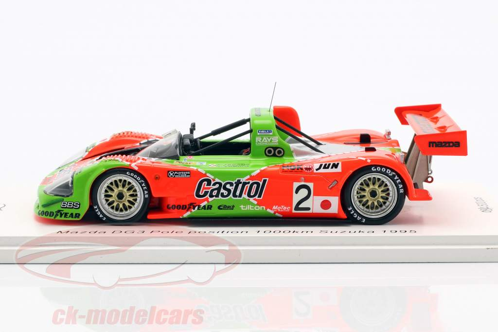 Mazda Kudzu DG-3 #2 Pole Position 1000km Suzuka 1995 1:43 Spark