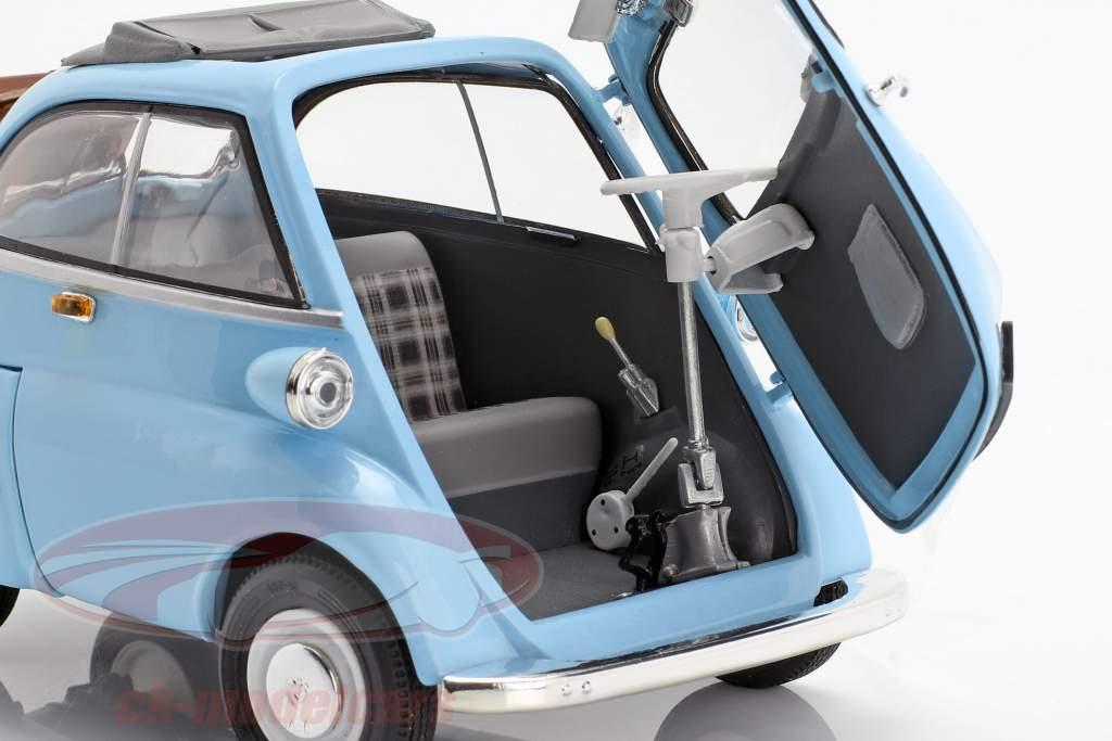 BMW Isetta 250 light blue 1:18 Revell