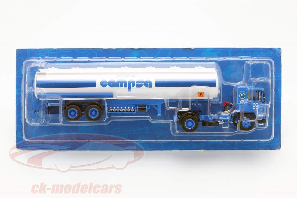 Pegaso 1231 T Campsa Opførselsår 1982 blå / hvid 1:43 Altaya