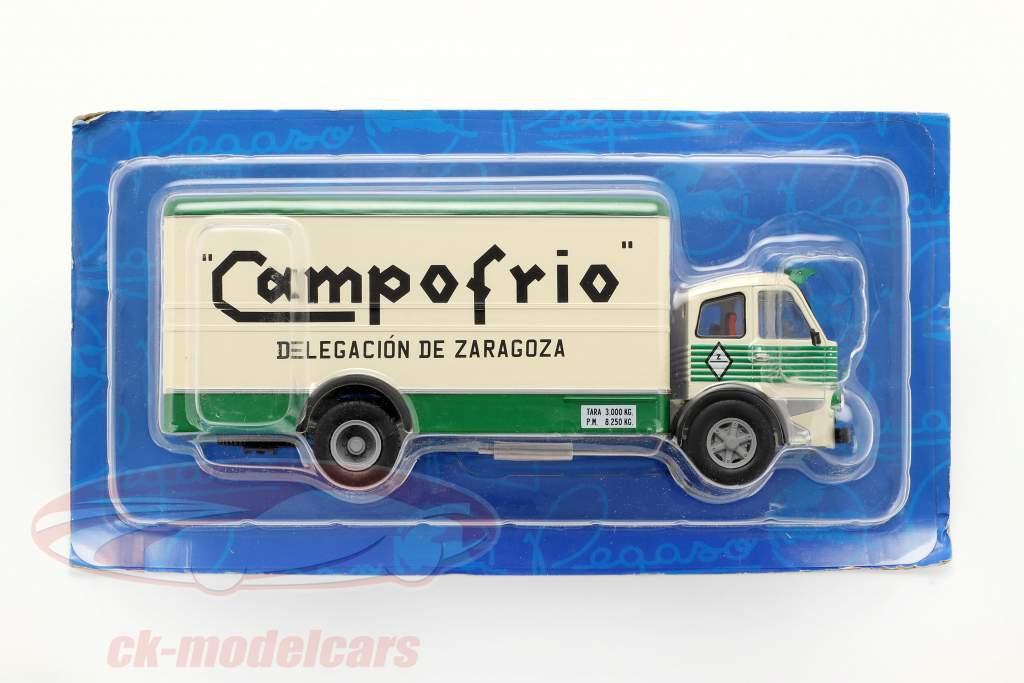 Pegaso 1060 Cabezon Campofrio anno di costruzione 1964 bianco / verde 1:43 Altaya