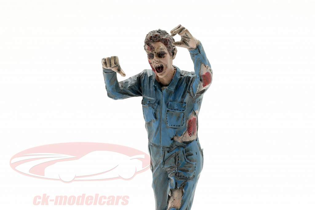 Zombie mécanicien II figure 1:18 American Diorama