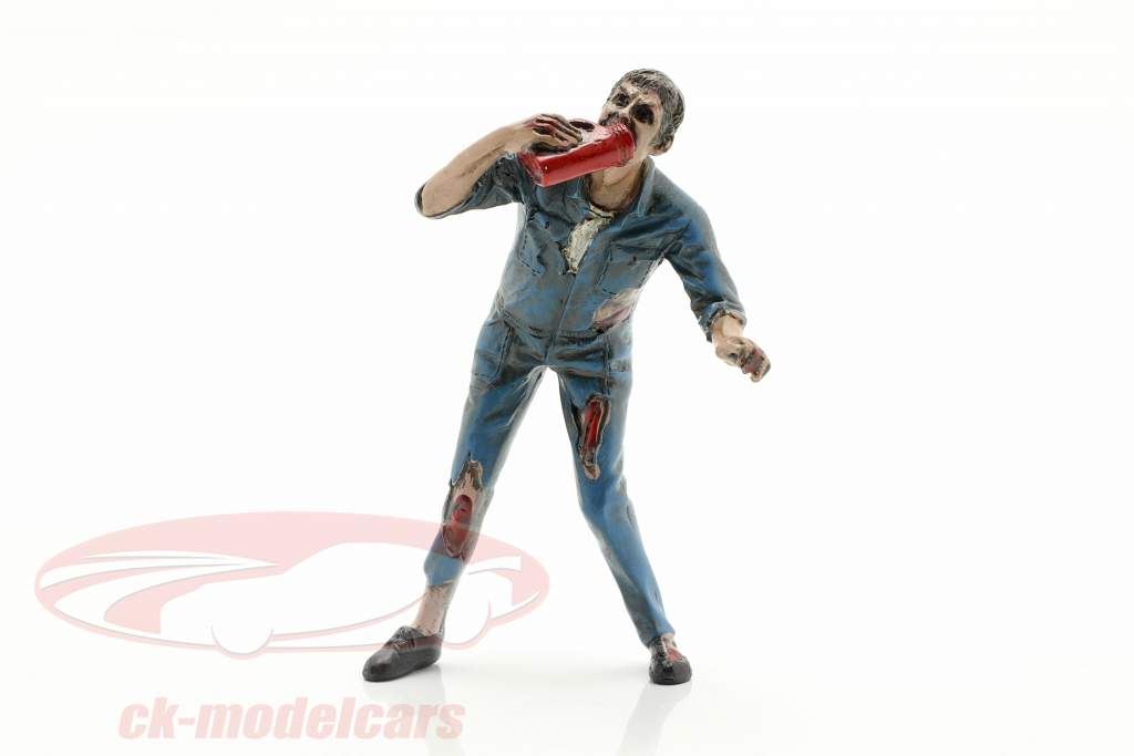 Zombie mécanicien III figure 1:18 American Diorama