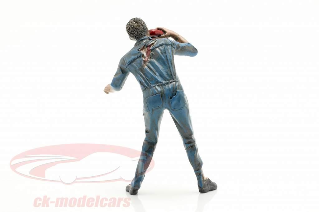 Zombie mekaniker III figur 1:18 American Diorama