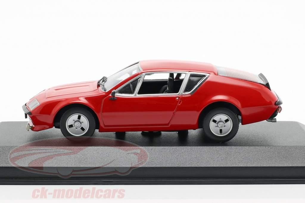 Renault Alpine A310 année de construction 1976 rouge 1:43 Minichamps