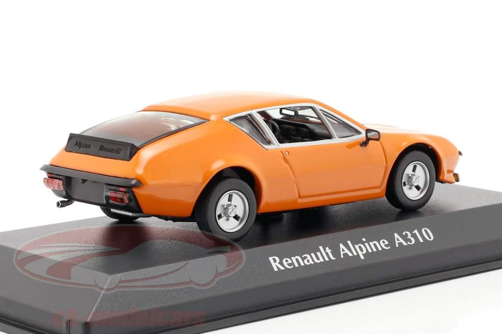 Renault Alpine A310 año de construcción 1976 naranja 1:43 Minichamps