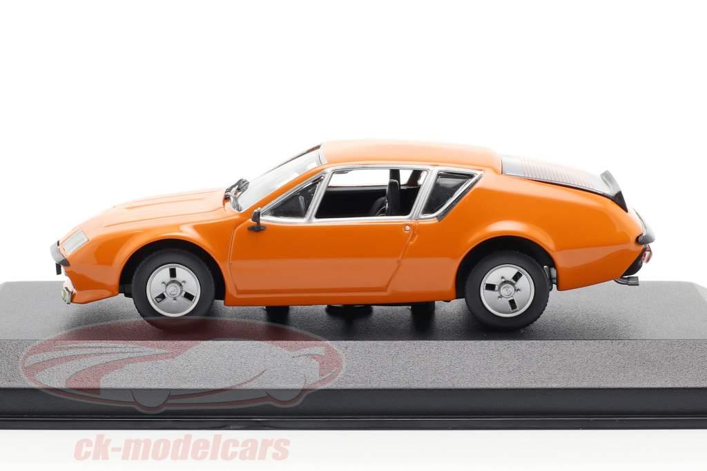 Renault Alpine A310 year 1976 orange 1:43 Minichamps
