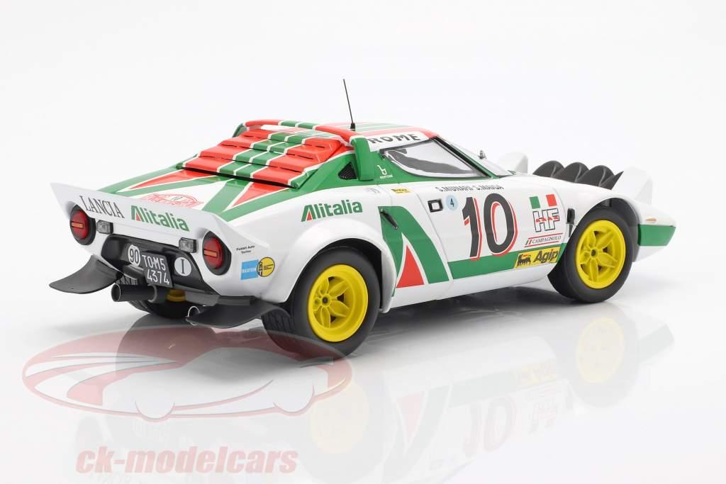Lancia Stratos #10 Vinder Rallye Monte Carlo 1976 Munari, Maiga 1:18 Minichamps