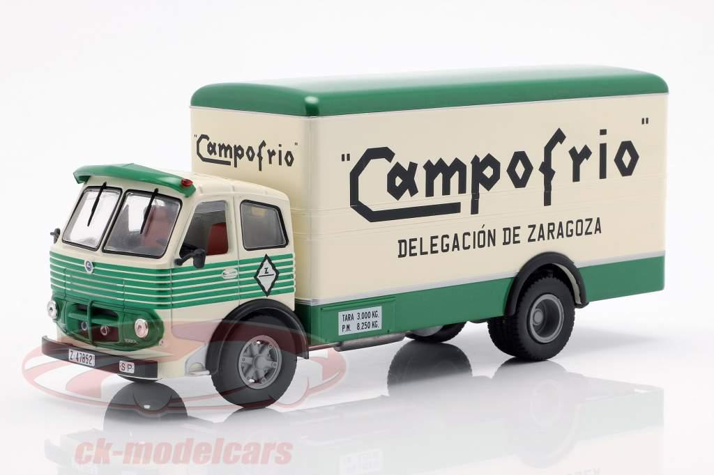 Pegaso 1060 Cabezon Campofrio Opførselsår 1964 hvid / grøn 1:43 Altaya
