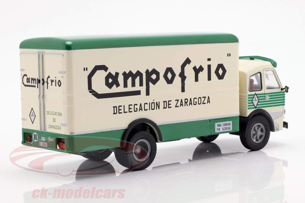 Pegaso 1060 Cabezon Campofrio Bouwjaar 1964 wit / groen 1:43 Altaya