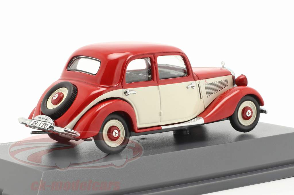 Mercedes-Benz 170V red / white 1:43 Schuco
