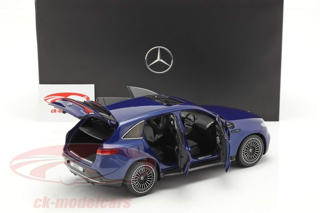 Mercedes-Benz EQC 4Matic (N293)  Baujahr 2019 brillantblau 1:18 NZG