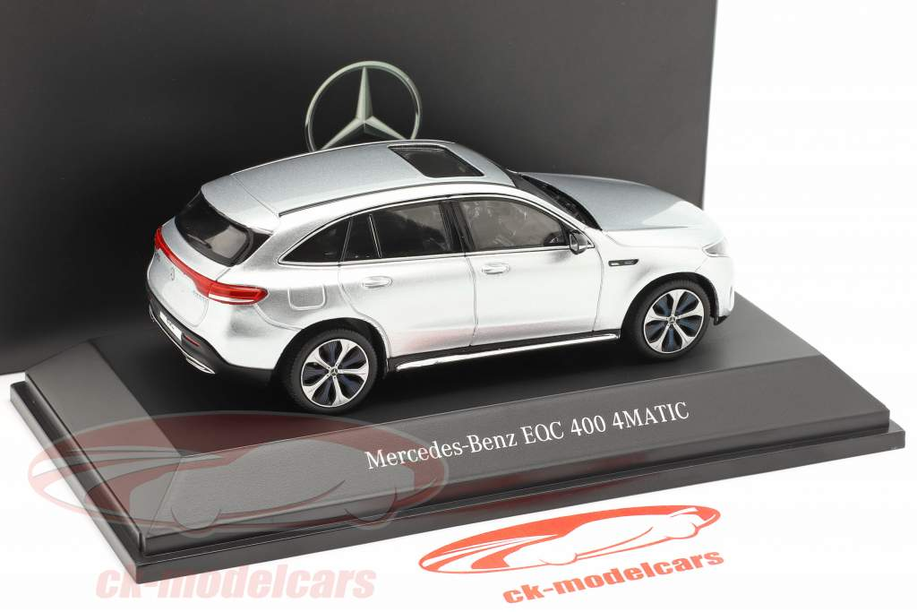 Mercedes-Benz EQC 4Matic (N293) year 2019 high-tech silver 1:43 Spark