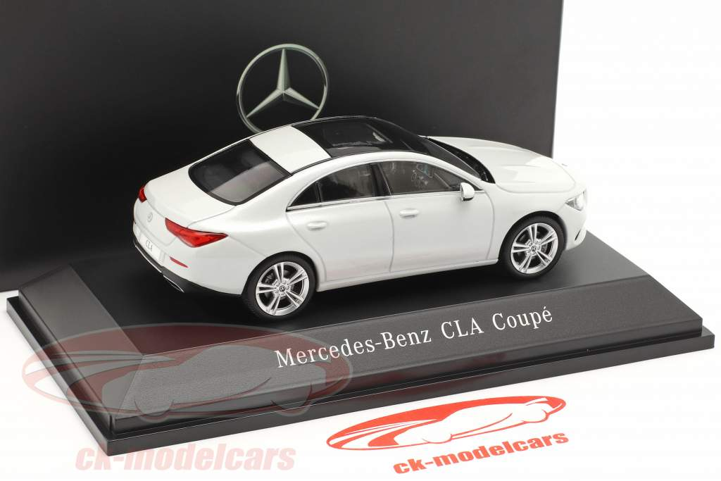 Mercedes-Benz CLA Coupe (C118) year 2019 digital white 1:43 Spark