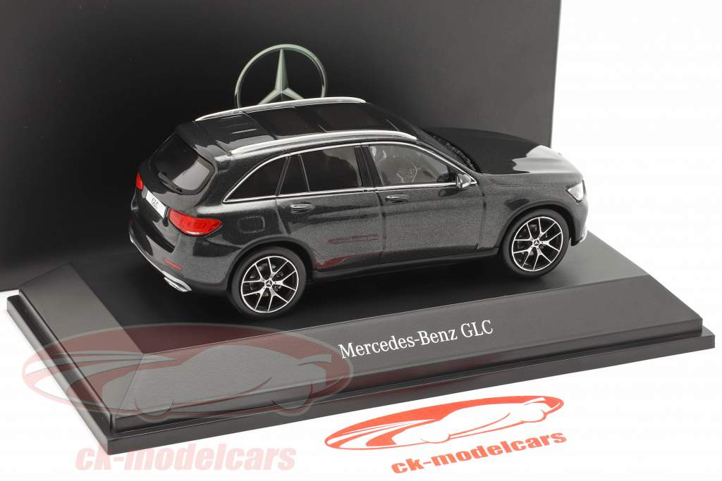 Mercedes-Benz GLC (X253) Mopf grafit grå 1:43 Spark