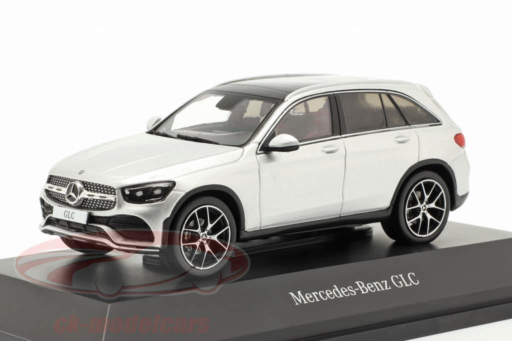 Mercedes-Benz GLC (X253) Mopf iridium zilver 1:43 Spark