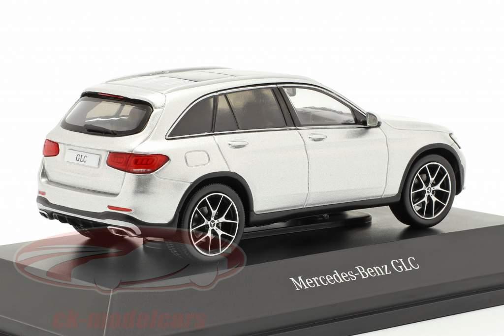 Mercedes-Benz GLC (X253) Mopf iridiumsilber 1:43 Spark