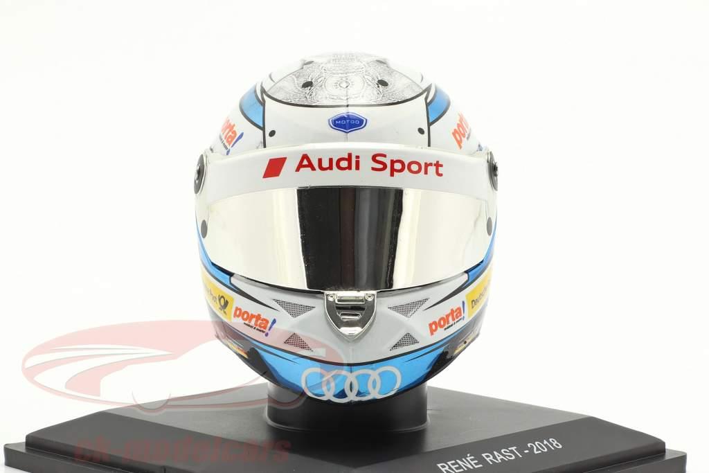 Rene Rast Audi RS 5 #33 DTM 2018 helmet 1:5 Spark