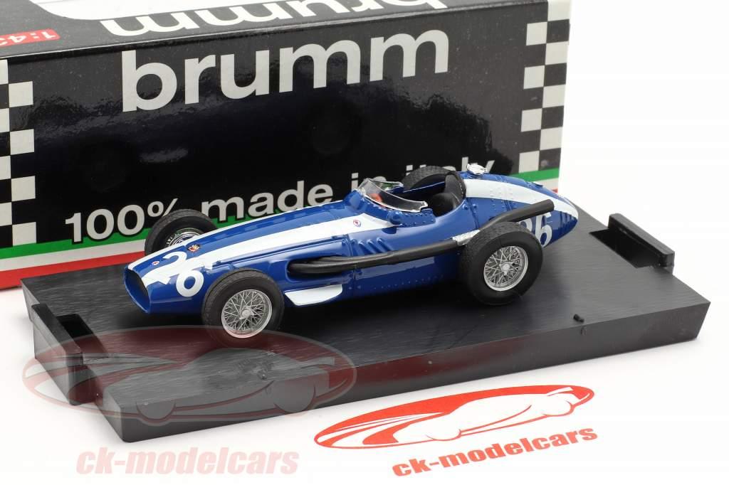 M. Gregory #26 Maserati 250F Formule 1 GP Italia 1957 1:43 Brumm
