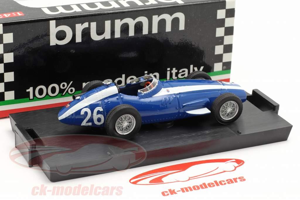 M. Gregory #26 Maserati 250F Formel 1 GP Italia 1957 1:43 Brumm