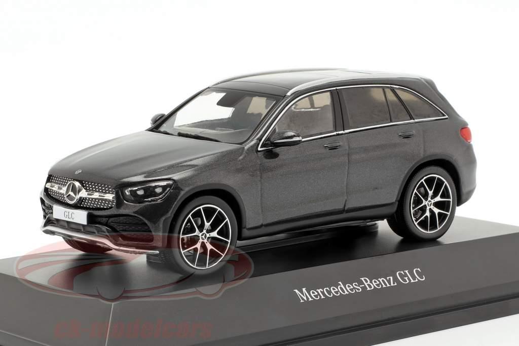 Mercedes-Benz GLC (X253) Mopf graphite grey 1:43 Spark