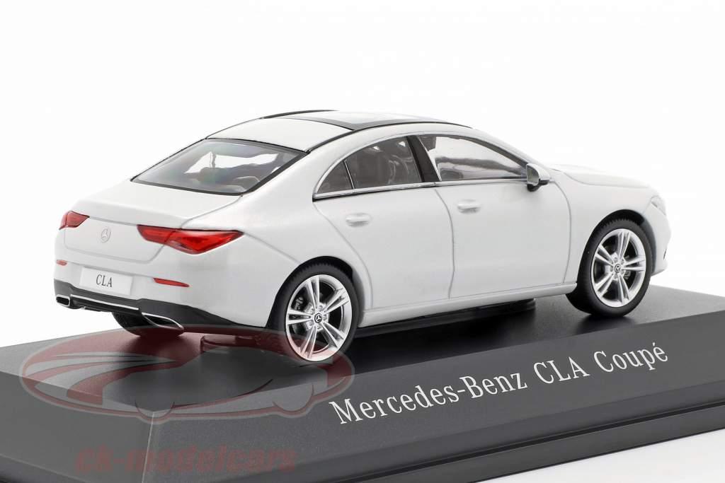 Mercedes-Benz CLA Coupe (C118) Opførselsår 2019 digital hvid 1:43 Spark