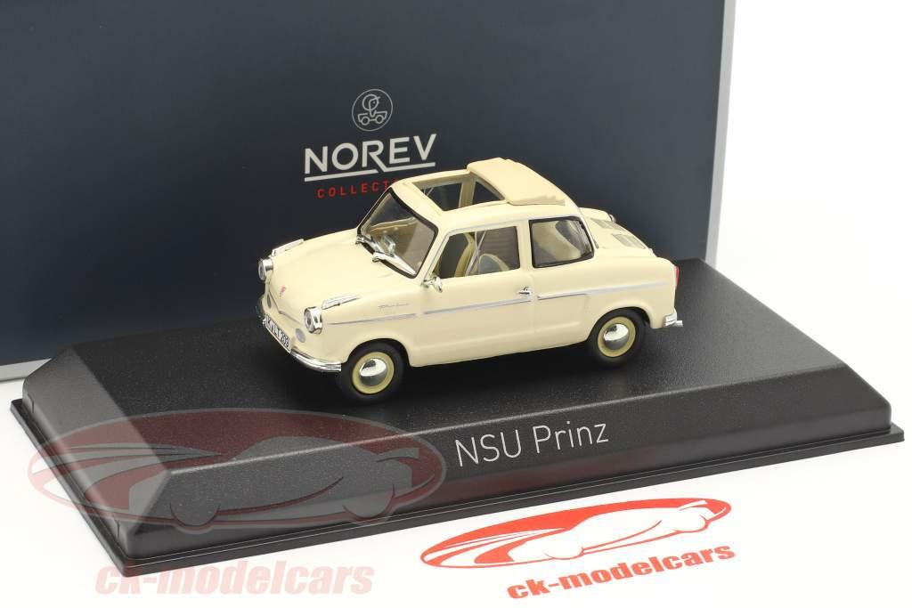 NSU Prinz II Bouwjaar 1959 beige 1:43 Norev