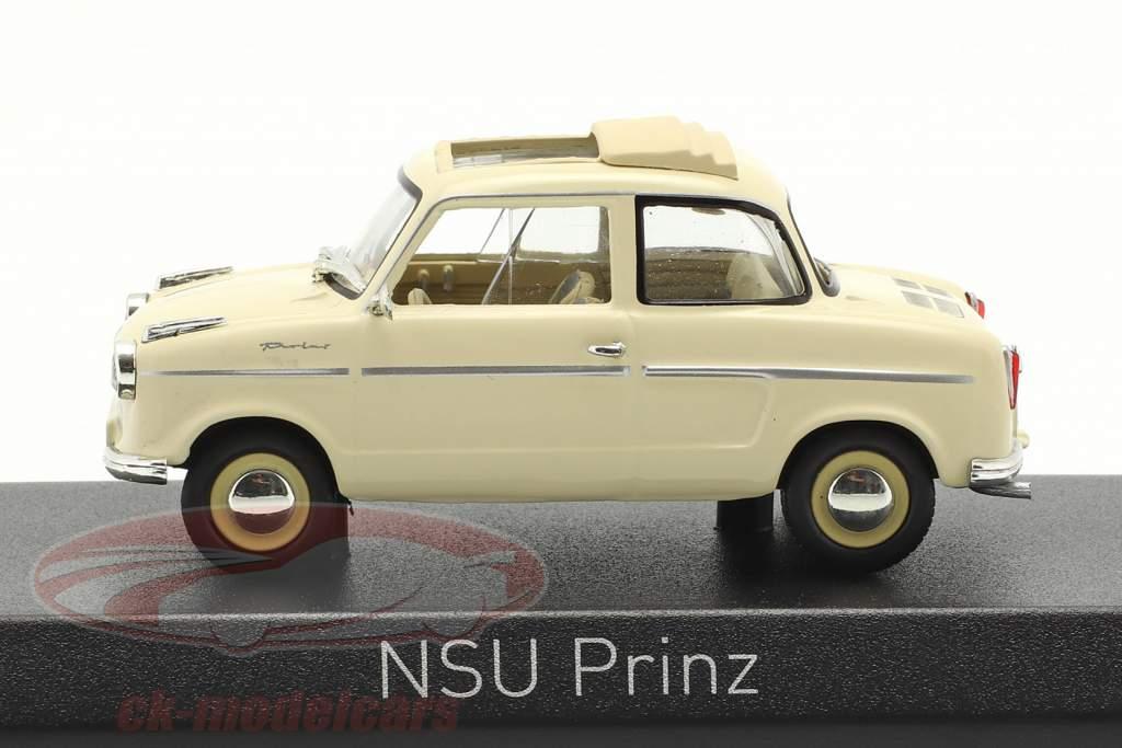 NSU Prinz II Opførselsår 1959 beige 1:43 Norev