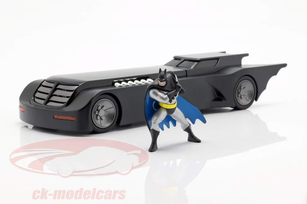 Batmobile & Batman figura Animated Series negro 1:24 Jada Toys