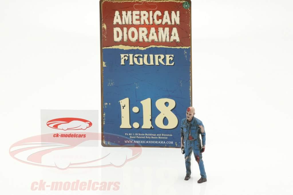 Zombie mecánico I figura 1:18 American Diorama